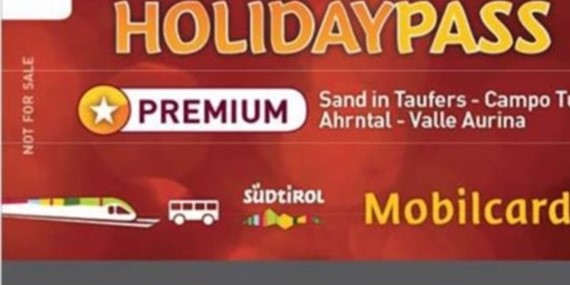 HOLIDAY PASS Premium